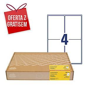 Etykiety wysyłkowe na kartony Avery Zweckform, 300 ark./op. białe, 99,1x139mm*
