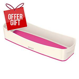 Leitz Mybox Organiser Tray Long, Pink