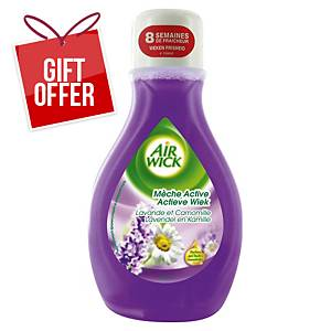 AIRWICK MECHE ACTIVE 375ML LAVENDER