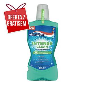 Płyn do płukania jamy ustnej AQUAFRESH Intense Clean, 500 ml