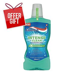 AQUAFRESH INTENSE CLEAN 500ML
