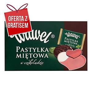 Czekoladki WAWEL Pastylka miętowa w czekoladzie, 210 g