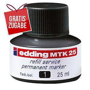 Nachfülltusche edding MTK25, Inhalt: 25ml, schwarz