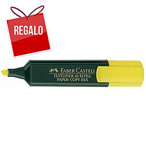 Marcador fluorescente FABER-CASTELL Textliner 48 color amarillo