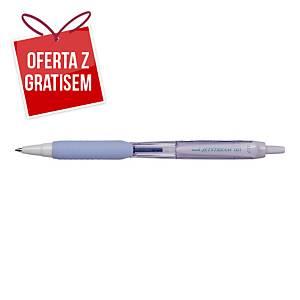 Automatyczny długopis UNI SXN-101FL Jetstream, wkład niebieski, fiolet. obudowa