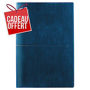 Semainier Oxford first 16x24 bleu marine