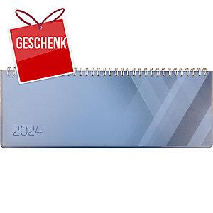 Tischplaner Simplex Colors 40655, 1 Woche pro Seite, Kunststoff, blau