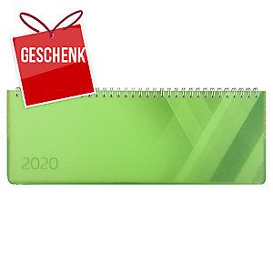 Tischplaner Simplex Colors 40656, 1 Woche pro Seite, Kunststoff, grün