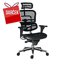 Antares Ergohuman stolička čierna
