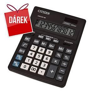 Stolní kalkulačka Citizen CDB1201 Business, 12-místný disp., černá