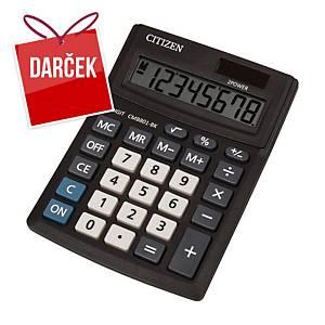Stolová kalkulačka Citizen CMB801 Business, 8-miestny displej, čierna