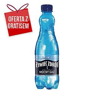 Woda źródlana ŻYWIEC ZDRÓJ Mocny gaz, zgrzewka 24 butelki x 0,5 l