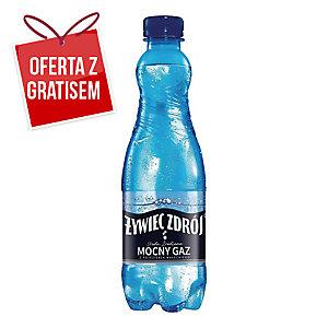 Woda źródlana ŻYWIEC ZDRÓJ Mocny gaz, 24 butelki x 0,5 l