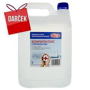 Dezinfekčný čistiaci prostriedok Disinfekto na povrchy, kvetinová vôňa, 5 l