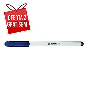 Długopis ZENITH Gliss, 0,5 mm, wkład niebieski, opakowanie 8 sztuk