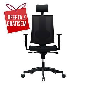 Krzesło biurowe NOWY STYL REVOLTA, czarne