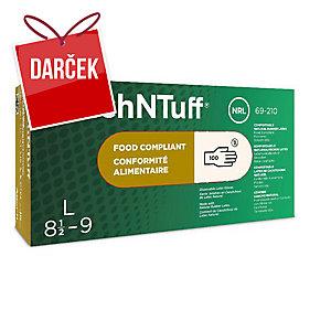 Jednorazové latexové rukavice Ansell TouchNTuff® 69-210, veľkosť 9, 100 kusov