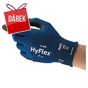 Rukavice na precizní práce ANSELL HyFlex® 11-816, velikost 7