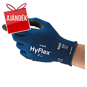ANSELL HyFlex® 11-816 kesztyű precíz munkákhoz, méret 11