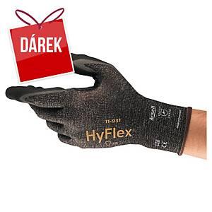 Rukavice na manipulaci v olejnatém prostředí ANSELL HyFlex® 11-931, velikost 8
