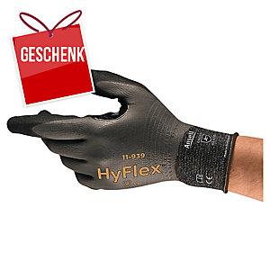 ANSELL HyFlex® 11-939 Handschuhe für Arbeiten in öligen Bereichen, Größe 8