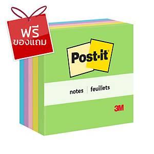 POST-IT กระดาษโน้ต 654-5UC 3 x3  คละสีสะท้อนแสง แพ็ค 5 เล่ม