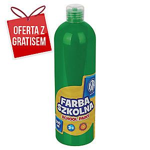 FARBA SZKOLNA ASTRA 500ML JASNOZIELONA