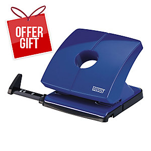 NOVUS B 225 PAPER PUNCH BLUE