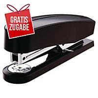 Heftgerät Novus B 2 - Heftleistung: 25 Blatt, schwarz