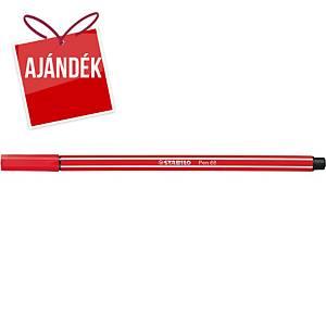 Stabilo Pen 68 filctoll, piros