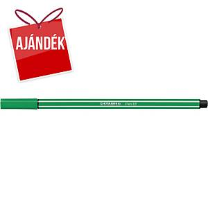 Stabilo Pen 68 filctoll, zöld