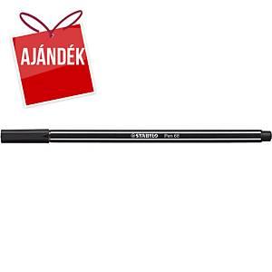 Stabilo Pen 68 filctoll, fekete