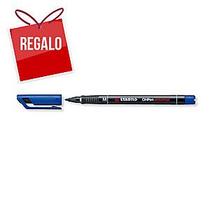 Rotulador permanente de retroprotección STABILO OH Pen color azul 1mm
