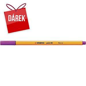Liner Stabilo Point 88, fialový