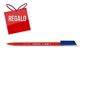 Rotulador punta de fibra STAEDTLER NORIS CLUB 326 color rojo