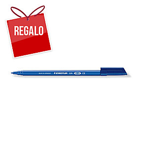 Rotulador punta de fibra STAEDTLER NORIS CLUB 326 color azul
