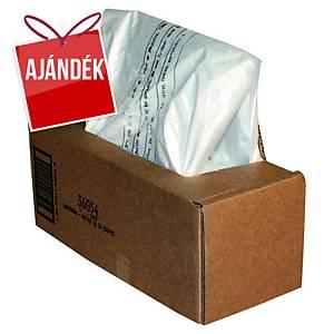 Fellowes hulladékgyűjtő zsák iratmegsemmisítőhöz, 53/75 l, 50 darab/csomag