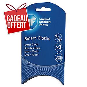 Chiffon doux Smart-Cloths pour écrans - paquet de 3