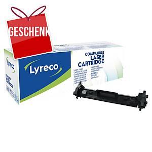 Lyreco kompatibler Lasertoner HP 17A (CF217A), schwarz