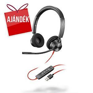 Plantronics Blackwire C3320 PC fejhallgató
