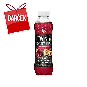 Teekanne Fresh nápoj s príchuťou granátového jablka a broskyne 500 ml, 6 kusov