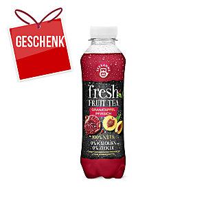 Teekanne Fresh Getränk mit Granatapfel und Pfirsich 500 ml, 6 Stück