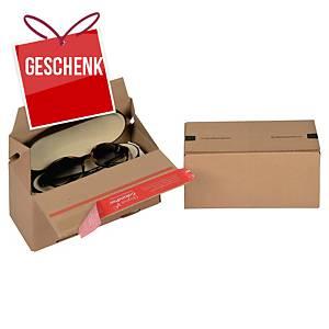 ColomPac® Euro-Versandbox, 195 x 95 x 90 mm, braun, 20 Stück