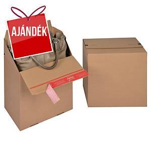 ColomPac® EURO doboz, 294 x 194 x 287 mm, barna, 10 darab