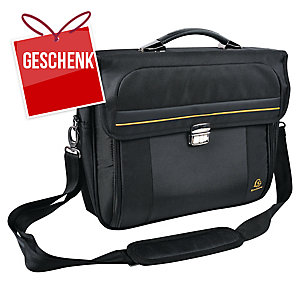 """Exactive Briefcase Laptoprucksack 15,6""""  schwarz"""