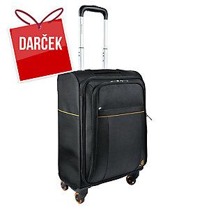 """Priručný 4-kolieskový kufrík na notebook Exactive Cabin 15,6"""" čierny"""