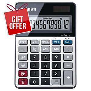 Canon LS-122TS 12 Digit Desktop Calculator