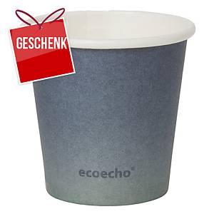 Trinkbecher ecoecho, 5.5 cl, Packung à 50 Stück