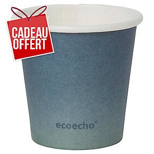 Gobelet Duni eco echo Urban Eco - 8 cl - paquet de 50