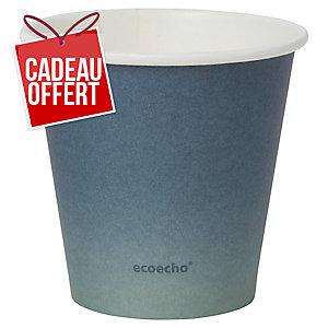 Gobelet Duni eco echo Urban Eco - 18 cl - paquet de 40
